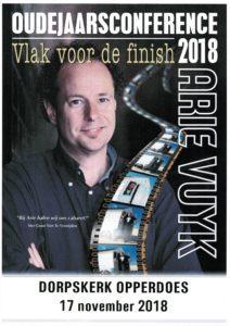 Oudejaarsconference Arie Vuyk @ Dorpskerk Opperdoes